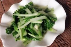 炒大白菜秧