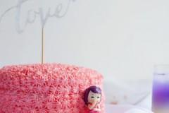 少女心爆棚的粉蛋糕