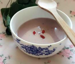 薏米紫薯米糊