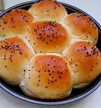 无油花生酱面包