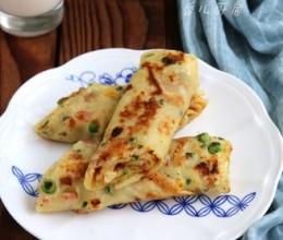培根杂蔬鸡蛋卷饼