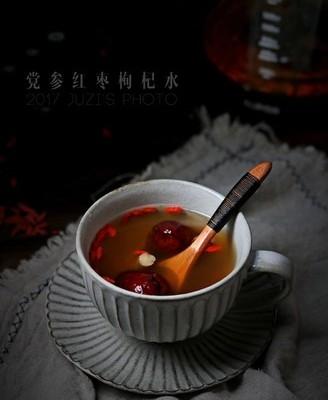党参枸杞红枣水