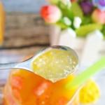 夏日營養飲品—西米露沙棘汁