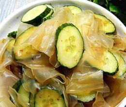 黄瓜凉拌粉皮