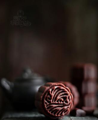 黑美人巧克力月饼