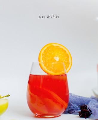 缤纷水果花茶