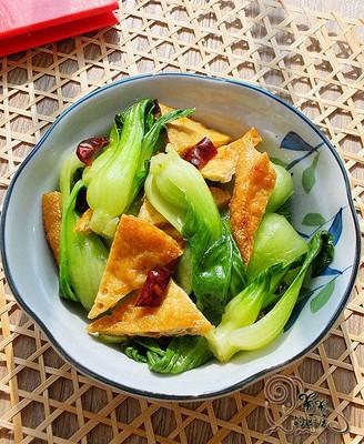 青菜炒豆干
