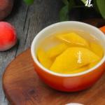 儿时最奢忘的糖水黄桃