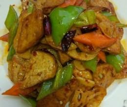豆腐烧莲藕