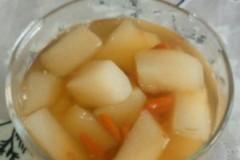 煮冰糖黄冠梨