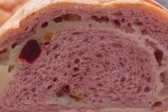 紫薯全麦麻薯软欧