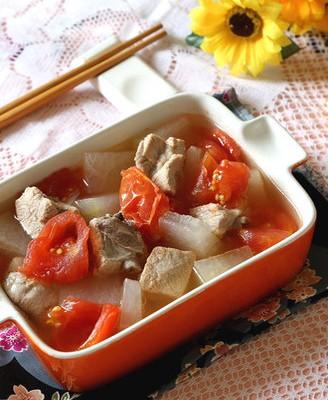 番茄冬瓜排骨汤
