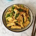 腐竹青椒炒肉