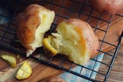 蒸红皮土豆