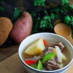 红皮土豆焖牛肉