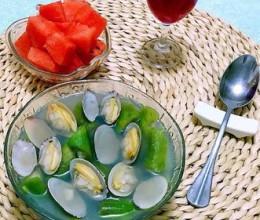 丝瓜蚬子汤
