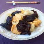 黑木耳菜花炒鸡蛋
