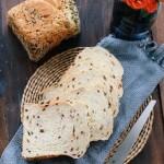 红枣果仁面包