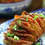 霸王超市#培根风琴烤土豆#