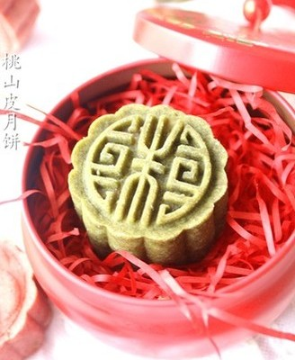桃山皮五仁月饼