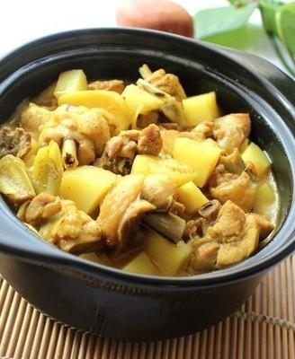 咖喱土豆鸡#霸王超市#