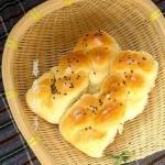 柔軟辮子面包