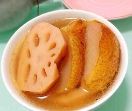 雪梨莲藕鸡肉汤