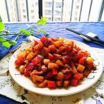 土豆胡萝卜肉末