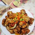 干锅排骨土豆片