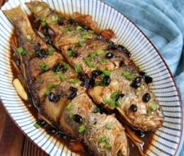 豆豉烧黄鱼