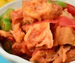 西红柿烩油条
