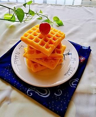 原味华夫饼(无泡打粉)