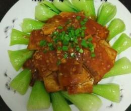 蒜香茄汁豆腐