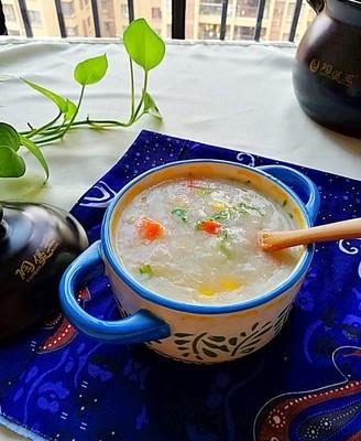 土豆胡萝卜玉米粥