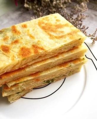 酥香焦脆,外酥里软葱油饼,早餐的最好选