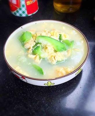 清润补水~丝瓜鸡蛋汤