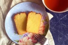柠檬百香果磅蛋糕