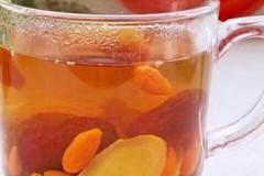 红枣姜片枸杞汤