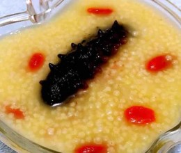 海参枸杞小米粥