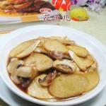 蘑菇炒茭白
