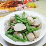 梅豆炒芋艿