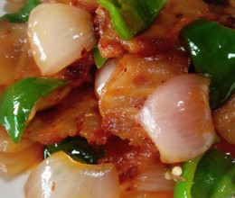 洋葱回锅肉