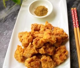 油炸鸡米花