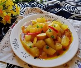 创新菜之咖喱焖冬瓜
