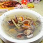 榨菜圆蛤汤