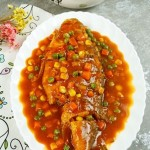 茄汁燒黃魚
