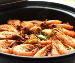 干锅白菜虾