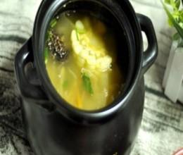 玉米鸡丁烧冬瓜汤
