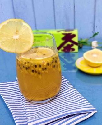百香果柠檬绿茶