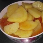 番茄烩土豆